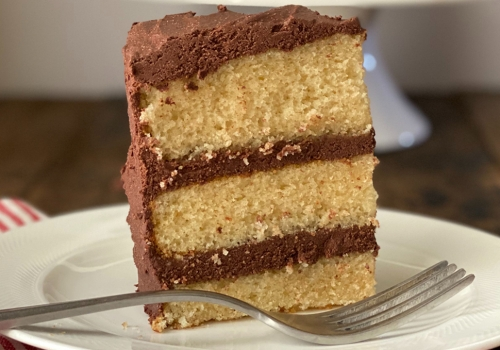 EVOO Birthday Cake