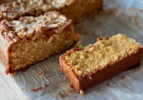 Tray Bake Almond Cake