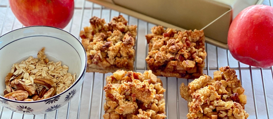 CapeSchanckOliveOil-EVOO-Apple-Crumble-Bars